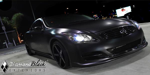 Matte Black Car Wraps What S Next