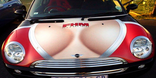 FHM Mini Cooper Top10 Vehicle Wraps