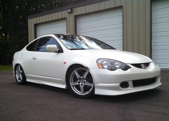 Custom Car Paint >> 3M-Satin-Pearl-White-Acura-RSX