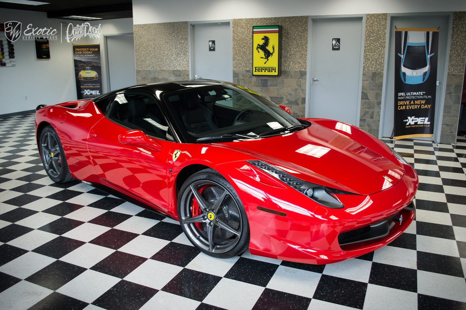 Ferrari Of Washington >> Exotic Vehicle Wraps Gallery and Portfolio