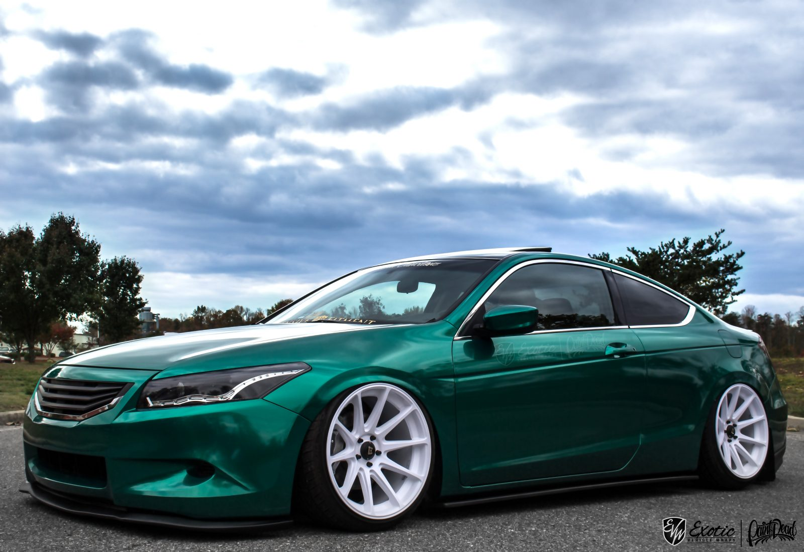 Avery Emerald Green Pearlescent Accord Frontside Wm