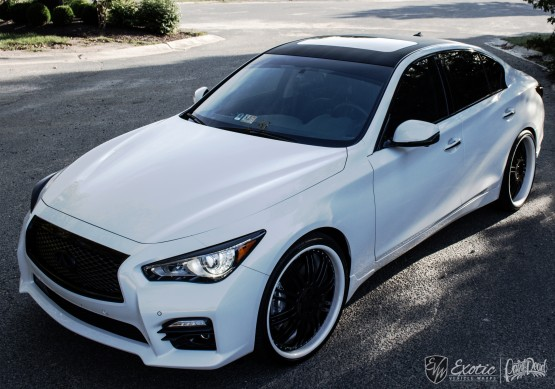 Infinity Q50 Accents Frontup M