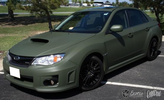 Matte Army Green Wrx 3m Wm