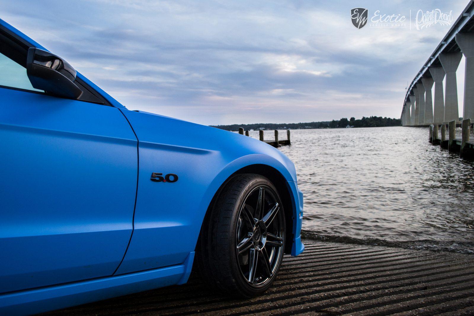 Satin Intense Blue Avery Mustang Solomons Rearside Wm Resize