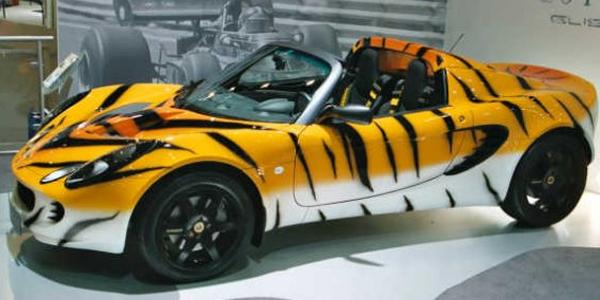 Lotus Elise Tiger Top10 Vehicle Wraps