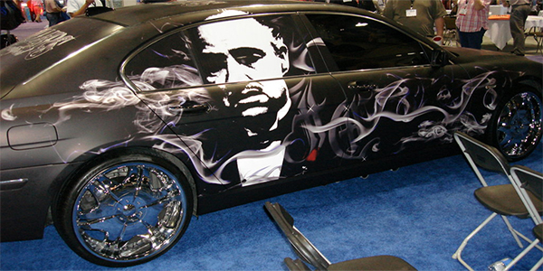 Matte Black Godfather Top10 Vehicle Wraps