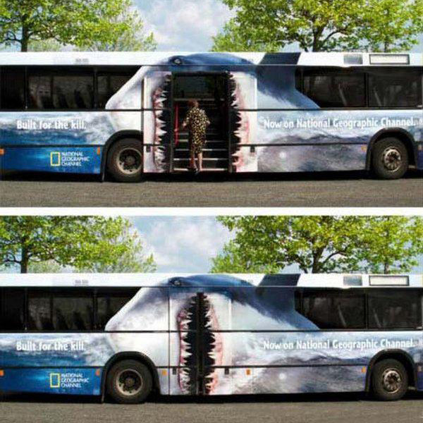 National Geographic Shark Bus Wrap Top10 Vehicle Wraps