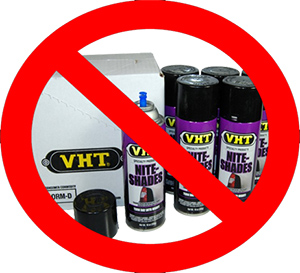 VHT Nightshade is NOT the answer, use transparent vinyl