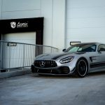 Mercedes AMG GTR Pro Avery Satin Silver